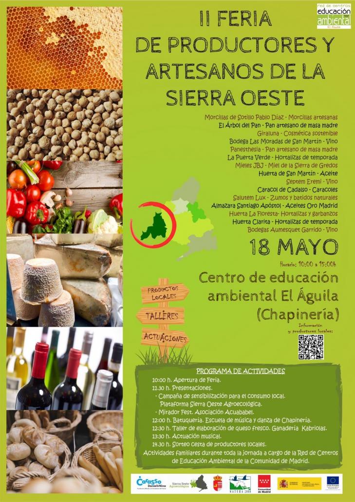 Se Acerca La Ii Feria De Artesanos Y Productores De La Sierra Oeste
